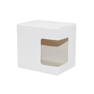 Szublimációs bögre doboz ablakkal