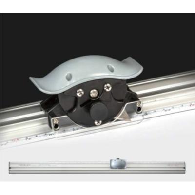 Csúszásmentes vonalzó 100cm trimmer vágóval