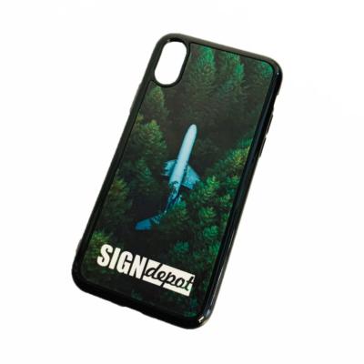 Szublimációs szilikon flexi iPhone X/XS telefontok