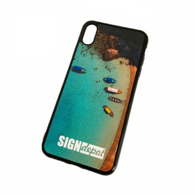 Szublimációs szilikon flexi iPhone XS Max telefontok