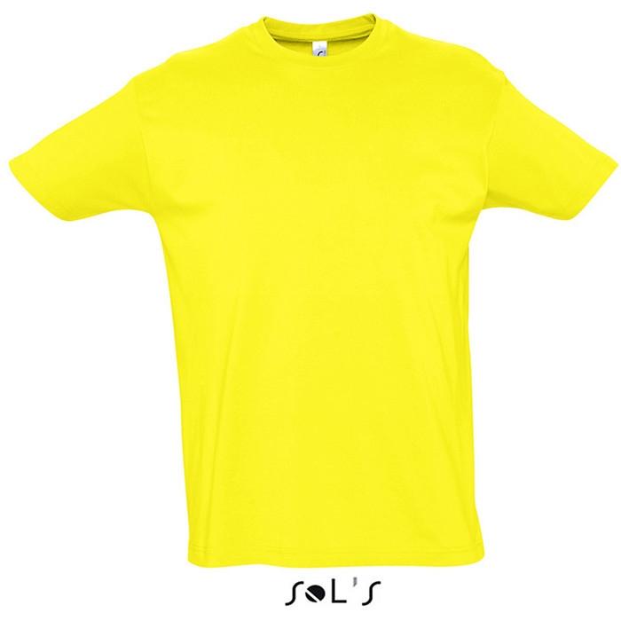 44acc39215 Sol's Imperial 11500 100% pamut póló sárga szín